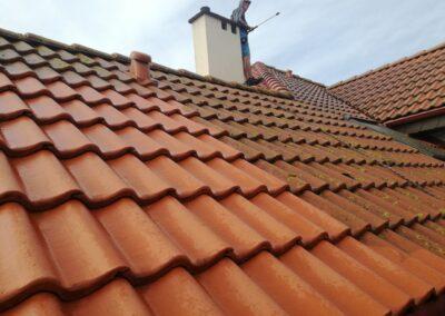 Gdynia Pogórze czyszczenie dachu